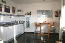 Ferienhaus in Sant Ferrán de ses Roques - APARTAMENTO ADOSADO EN PLAYA MIGJORN